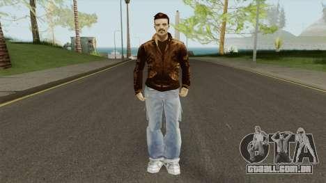 New Claude (GTA III Style) para GTA San Andreas
