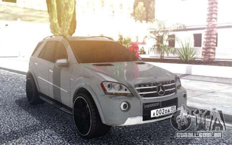 Mercedes-Benz ML 63 AMG para GTA San Andreas