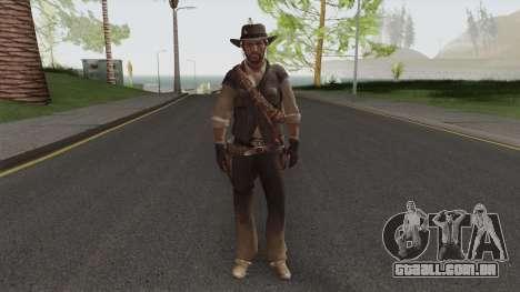 John Marston From Red Dead Redemption V1 para GTA San Andreas