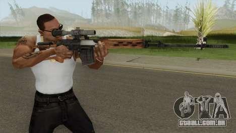 Rekoil SVD Dragunov para GTA San Andreas