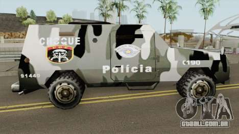 Swatvan COE-SP (GATE-MG) TCGTABR para GTA San Andreas