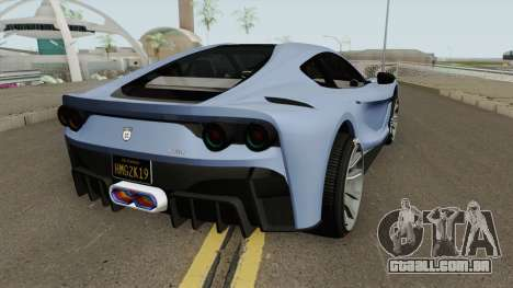Grotti Itali GTO GTA V para GTA San Andreas