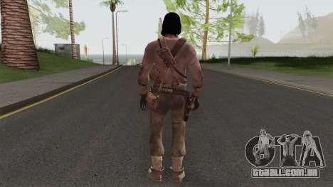 John Marston From Red Dead Redemption V2 para GTA San Andreas