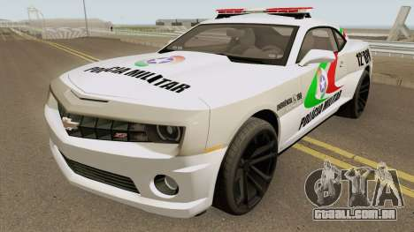 Chevrolet Camaro PMSC para GTA San Andreas