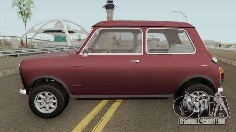 British Leyland Mini 1000 1977 Standart para GTA San Andreas