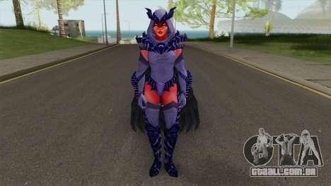 Raven Legendary Form DC Legends para GTA San Andreas