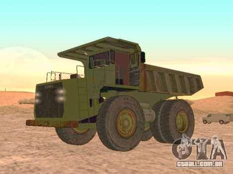 Terex 3309 78 para GTA San Andreas