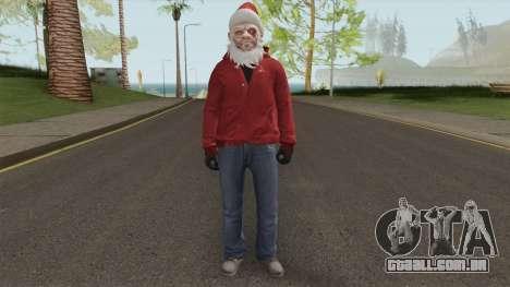 GTA Online Christmas Skin 2 para GTA San Andreas