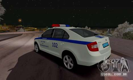 Skoda Rapid DPS para GTA San Andreas
