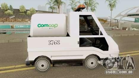 Sweeper Comcap Prefeitura De Flrianopolis para GTA San Andreas