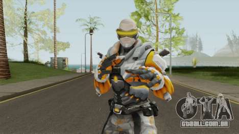 Cyborg 76 From Overwatch para GTA San Andreas