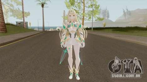 Xenoblade Chronicles 2 Myrtha V3 para GTA San Andreas