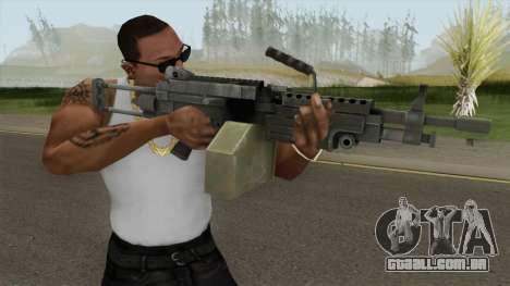 M249 (VAGANCIA) para GTA San Andreas