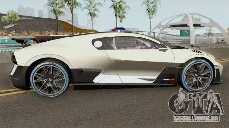 Bugatti Divo 2019 Police Prototype para GTA San Andreas