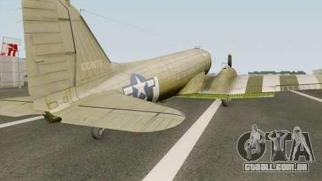 Douglas C-47 Skytrain para GTA San Andreas