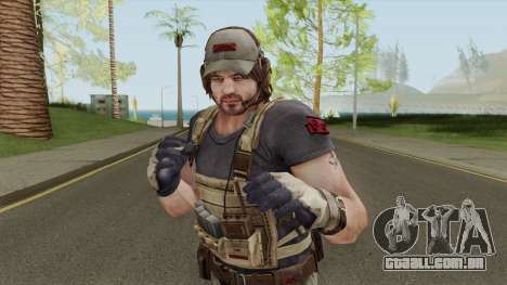 Parker Luciani From Resident Evil: Revelations para GTA San Andreas