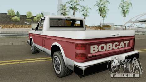 PS2 Bobcat para GTA San Andreas