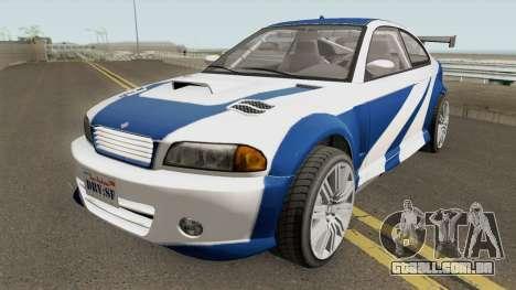 Ubermacht Sentinel Custom GTA V IVF para GTA San Andreas