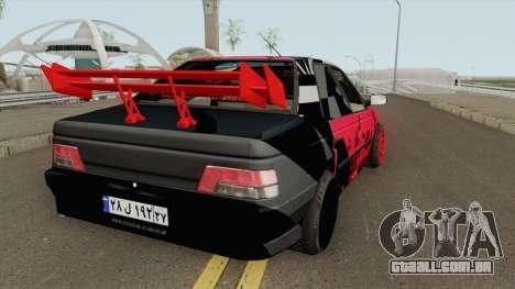 IKCO Peugeot 405 GLX Full-Tuning para GTA San Andreas
