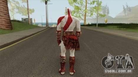 Kratos God Of War 2 para GTA San Andreas