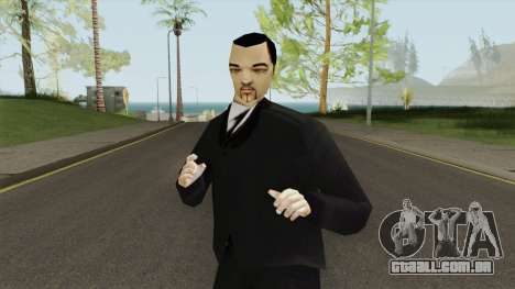Leone Mafia (GTA III) Without Glasses para GTA San Andreas