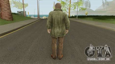 Clive O Brian From Resident Evil: Revelations para GTA San Andreas