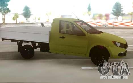 Lada Granta 2018 para GTA San Andreas