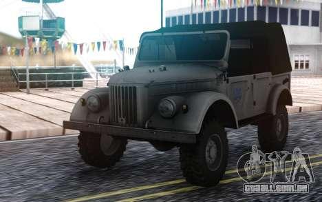 GAZ-69 Farmer Simulator 2015 para GTA San Andreas