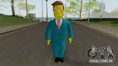 Seymour Skinner - Simpsons Hit and Run para GTA San Andreas