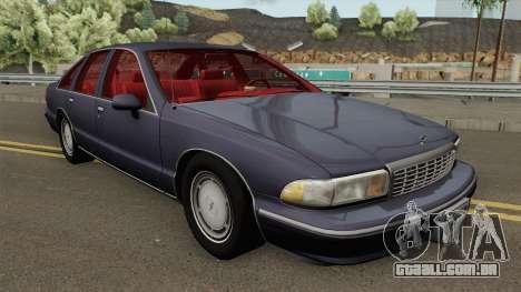 Chevrolet Caprice 1993 Civilian para GTA San Andreas