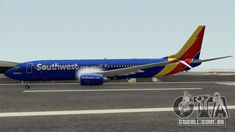 Boeing 737-800 Southwest Airlines (Heart Livery) para GTA San Andreas