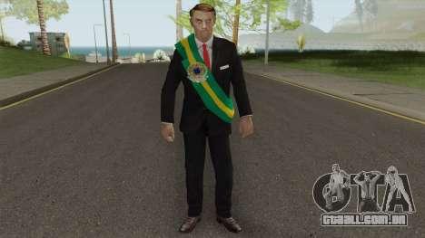 Bolsonaro Presidente V1 para GTA San Andreas