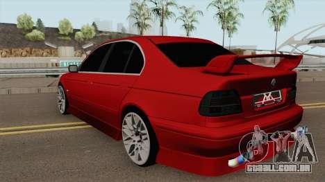 BMW M5 540i para GTA San Andreas