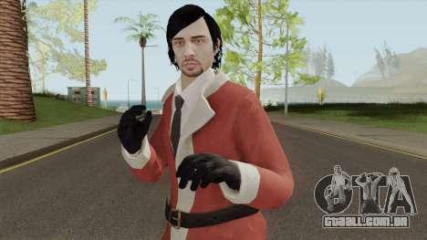 GTA Online Christmas Skin 1 para GTA San Andreas