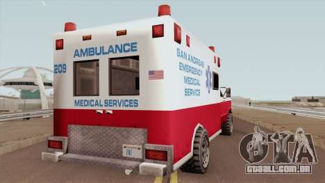 Ambulance From 70s para GTA San Andreas