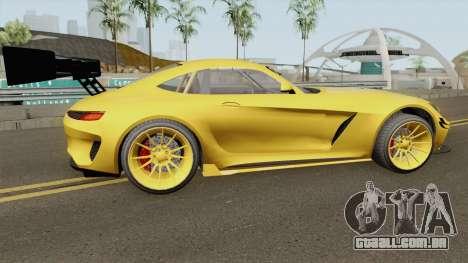 Benefactor Schlagen GT GTA V IVF para GTA San Andreas