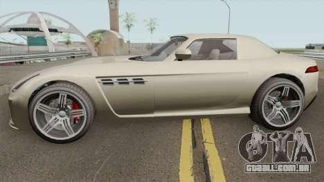 Benefactor Surano GT GTA V IVF para GTA San Andreas