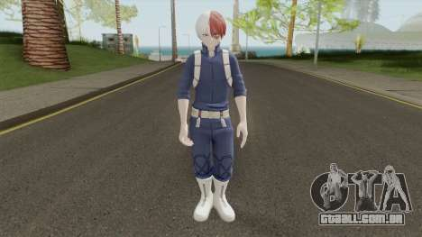 Shoto Todoroki para GTA San Andreas
