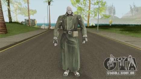MR X (Resident Evil) para GTA San Andreas