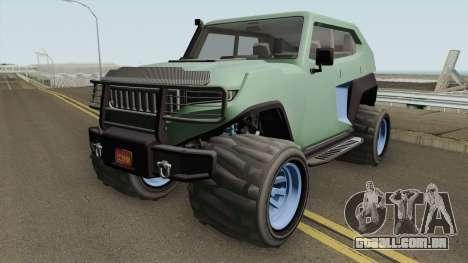 Canis Freecrawler GTA V para GTA San Andreas