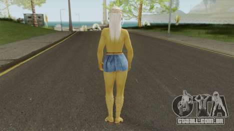 Misaki Denim Dress DoA5 para GTA San Andreas