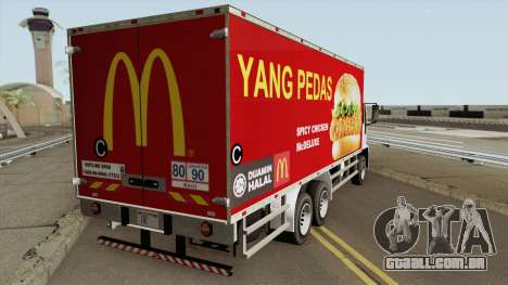 DFT 30 McDonalds Malaysia Spicy Chicken McDeluxe para GTA San Andreas