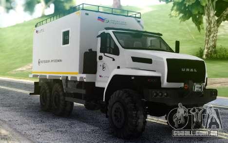 Ural PRÓXIMA 4320-6952-72Е5Г38 004 unidade Resid para GTA San Andreas