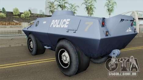BETA Swatvan para GTA San Andreas