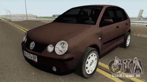 Volkswagen Polo Mk4 2002 para GTA San Andreas
