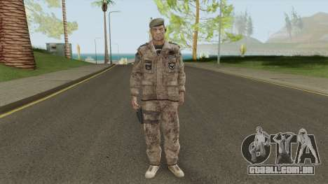Sherman Barclay from Crysis 2 para GTA San Andreas