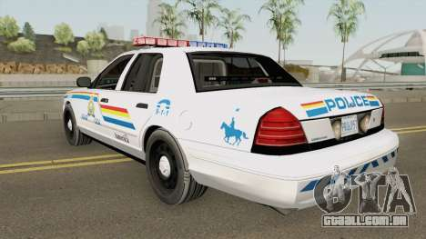Ford Crown Victoria 2007 SASP RCPM para GTA San Andreas