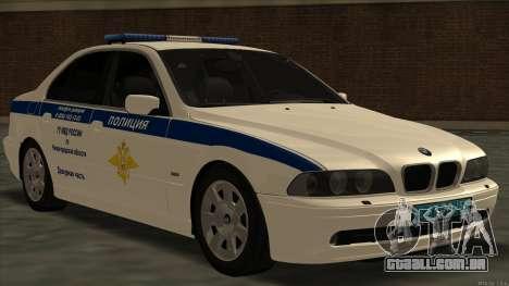 BMW 525i Moi para GTA San Andreas