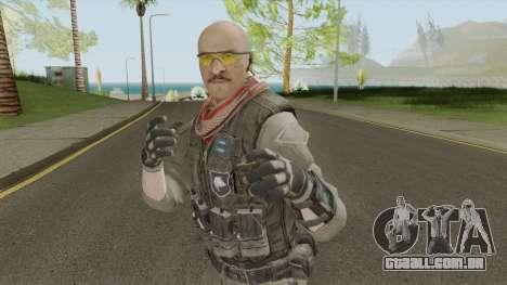 ISA Assault (Call of Duty: Black Ops 2) para GTA San Andreas