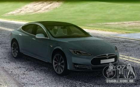 Tesla Model-S P90D para GTA San Andreas